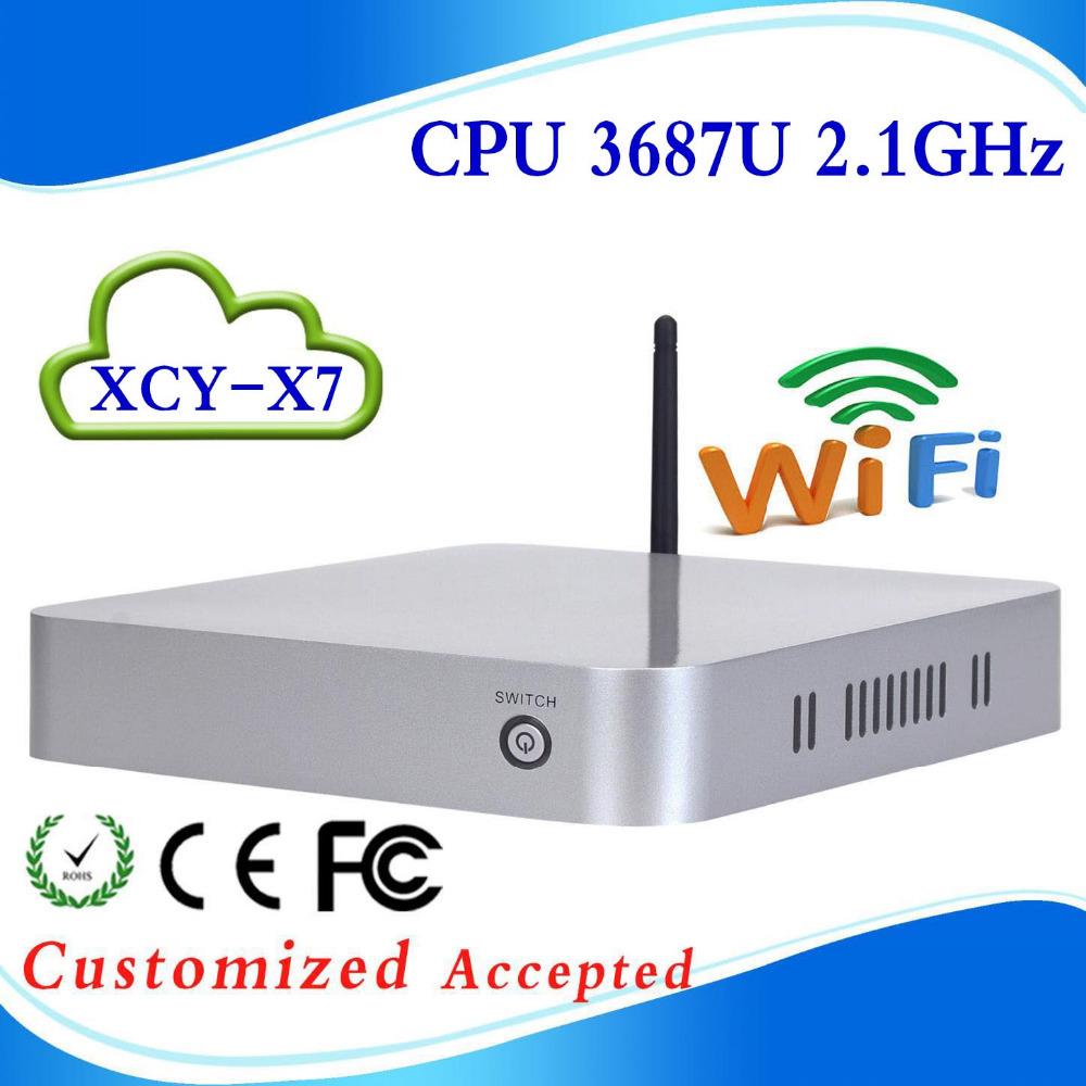 Mini PC Windows 7 With Intel Core i7 3517U/3687U Bareboone PC Mini Computer 12V Car PC With HDMI(China (Mainland))