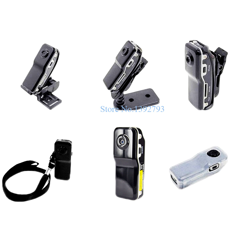 2015 Popular Mini Sports Camera MD80 DV DVR 720P HD DVR MD 80 + Holder + Clip For Outdoor Hiking Bike Video Audio Recorder 5C45(China (Mainland))