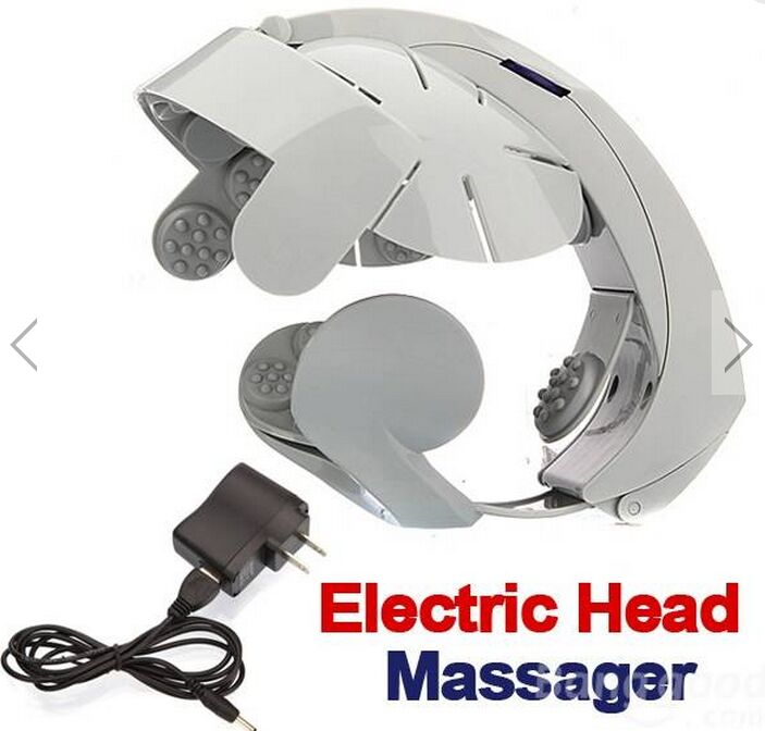 Electric Head Massager Scalp Relaxation Brain Body Relax Acupuncture Points relieve fatigue headache improve sleep - @ JACK Store store