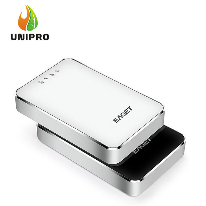 Original EAGET A86 1TB Wirless WiFi USB 3.0 High-Speed External Hard Disk Drives HDD 3G Router 3000mA Polymer Mobile power Bank(China (Mainland))