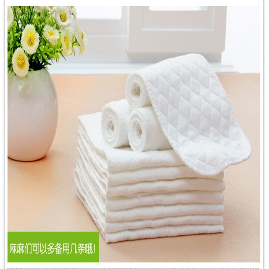 10 pcs/bag baby reusable diapers Bamboo Eco Cotton disposable diapers nappy baby infant product Unisex diapers for children care(China (Mainland))