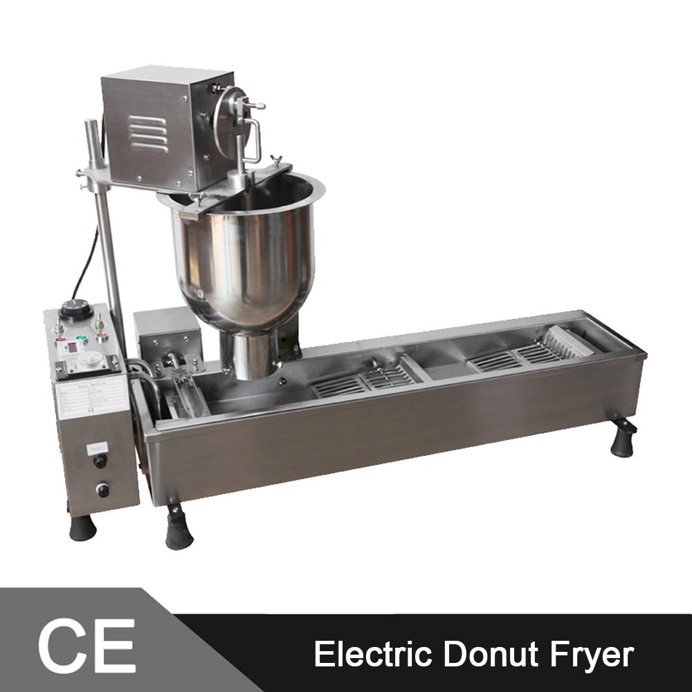 MARCHEF Mini Automatic Donut Fryer Machine_Mini Donut Machine_ Donut Making Machines(China (Mainland))