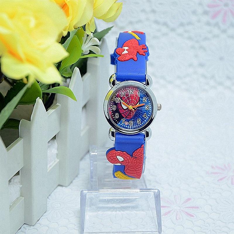 New 206 Fashion Spider man girl s boy quartz watch kids cute Children s cartoon watches