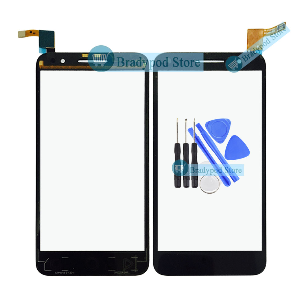 Tools+New Touch Screen Replacement For Alcatel Vodafone Smart Prime 6 VF-895N VF895 VF-895 895N Cell Phone Sensor Digitizer Lens(China (Mainland))