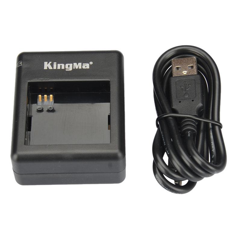 KingMa xiaomi yi battery 2 Pack 1100mAh and xiao yi battery Double Dual Charger for Xiaomi