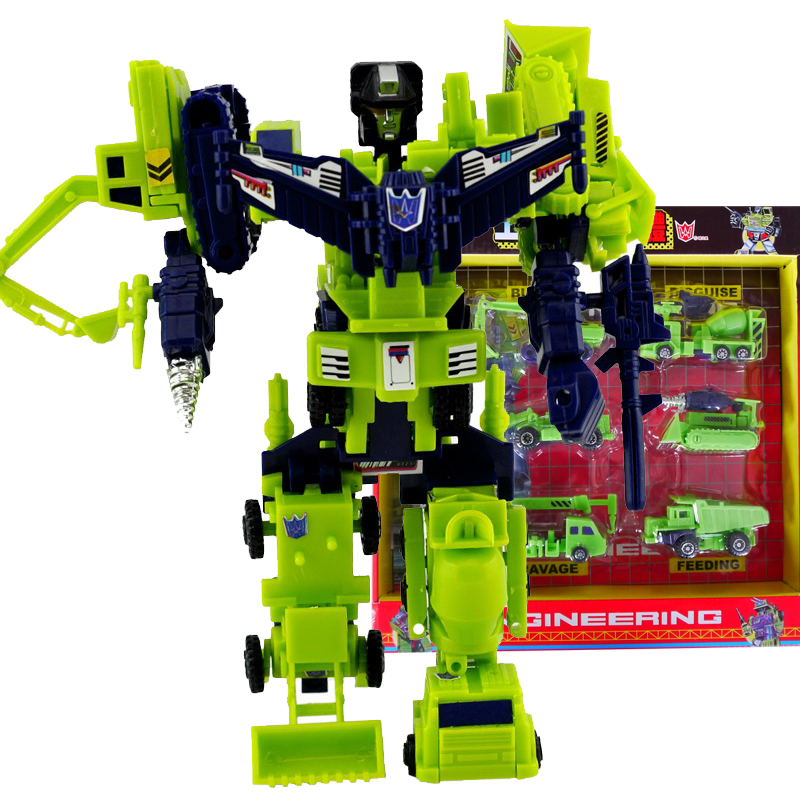 ANNA WU !!! Hercules Becomes King Cool Toy Robot Deformation Fit the New Truck Suit Boy Toy(China (Mainland))
