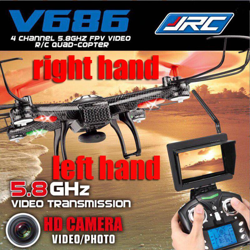 Игрушка на радиоуправлении JJRC V686 FPV 2.4g 4CH 5.8g FPV RC 720P HD v666 WLToys V686 1 original fpv camera for wltoys v666 v666n rc quadcopter wltoys v666 spare parts