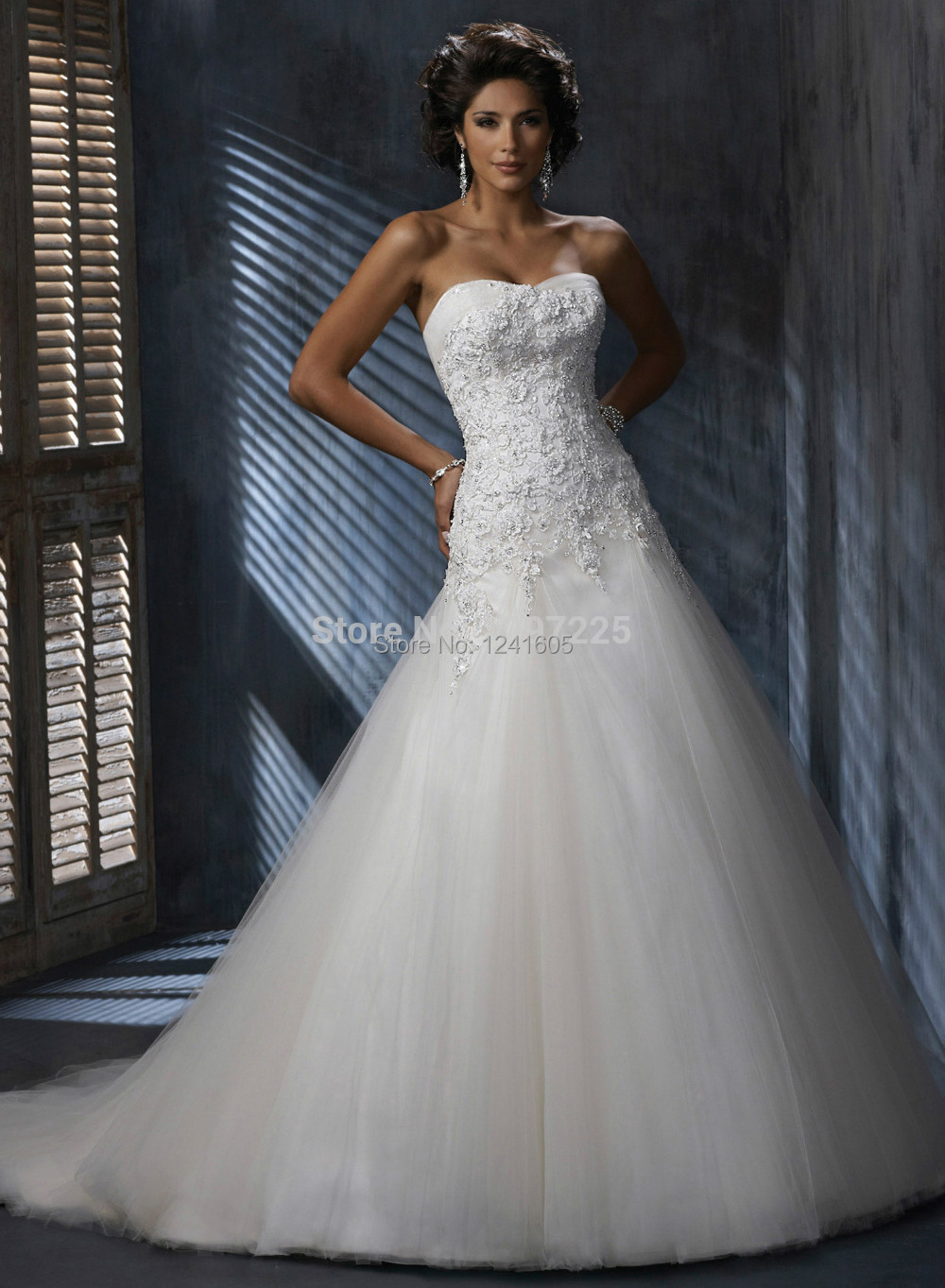 Wedding Dresses Wholesale : Bridal wedding dress gown free shipping in dresses from