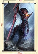 KILL la KILL Ryuko Swords Anime Art Silk Poster Wall Scroll