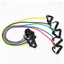 3PCS Yoga Tube Body Band Pull Rope Spring Exerciser Resistance Bands Rope Latex Chest Expander Indoor Sports Fitness