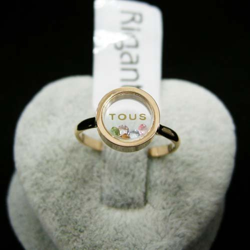 FASHION RING 18K white Gold plated cute bear amore rings Austrian Crystal JEWELRY - EUS store