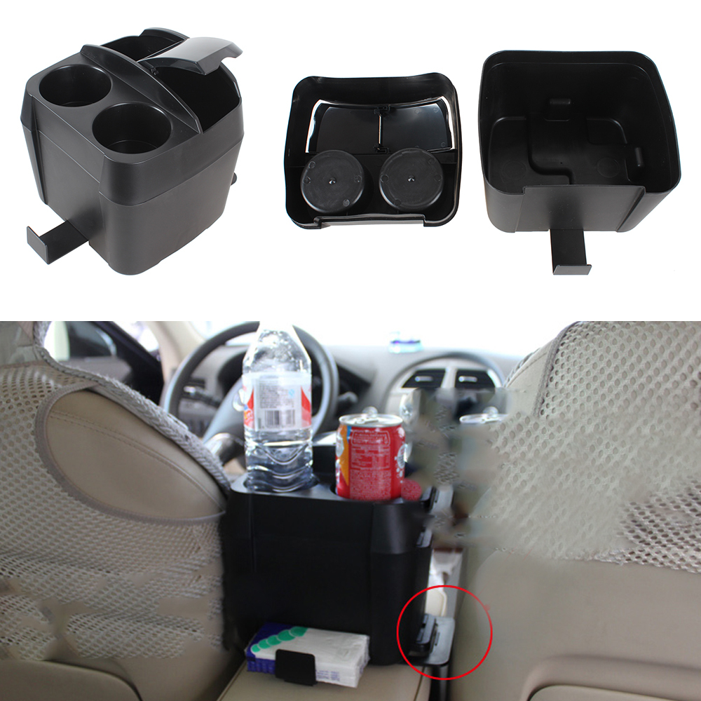 Multifunctional Car Styling Black Cup Holder Drink Bottle Can Auto Trash Dustbin Tissue Clip<br><br>Aliexpress