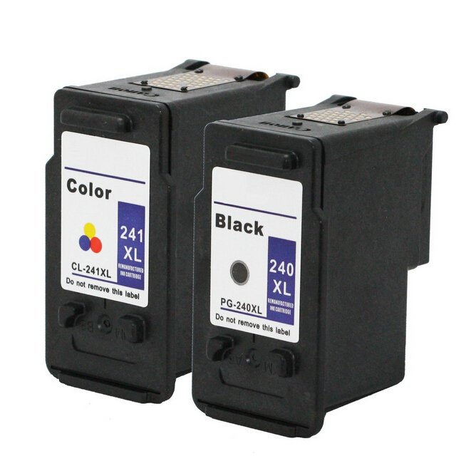 2PK PG-240 CL-241  Ink Cartridge  for Canon PG240 CL241  For Canon PIXMA MG2220 MG3122 MG3220 MX392 MX432 MX452 MX512<br><br>Aliexpress