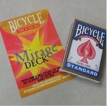 Cartas de Magic mirage cubierta tarjetas de bicicletas atómica cartas mágicas largo y corto tarjetas