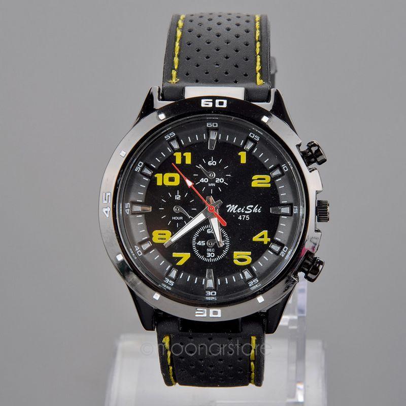 2015 Fashion Casual Quartz watch men military Watches sport Wristwatch Dropship Silicone Clock Stylish Hours Relogio Masculino(China (Mainland))