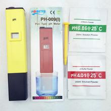 Pocket Pen Water PH Meter Digital Tester PH-009 IA 0.0-14.0pH for Aquarium Pool Water Laboratory(China (Mainland))