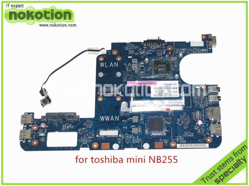 brand new PAV10 LA-5122P REV 1.0 K000106970 For toshiba satellite NB255 Motherboard DDR2 Intel Atom N455 1.66GHz GMA X3150(China (Mainland))