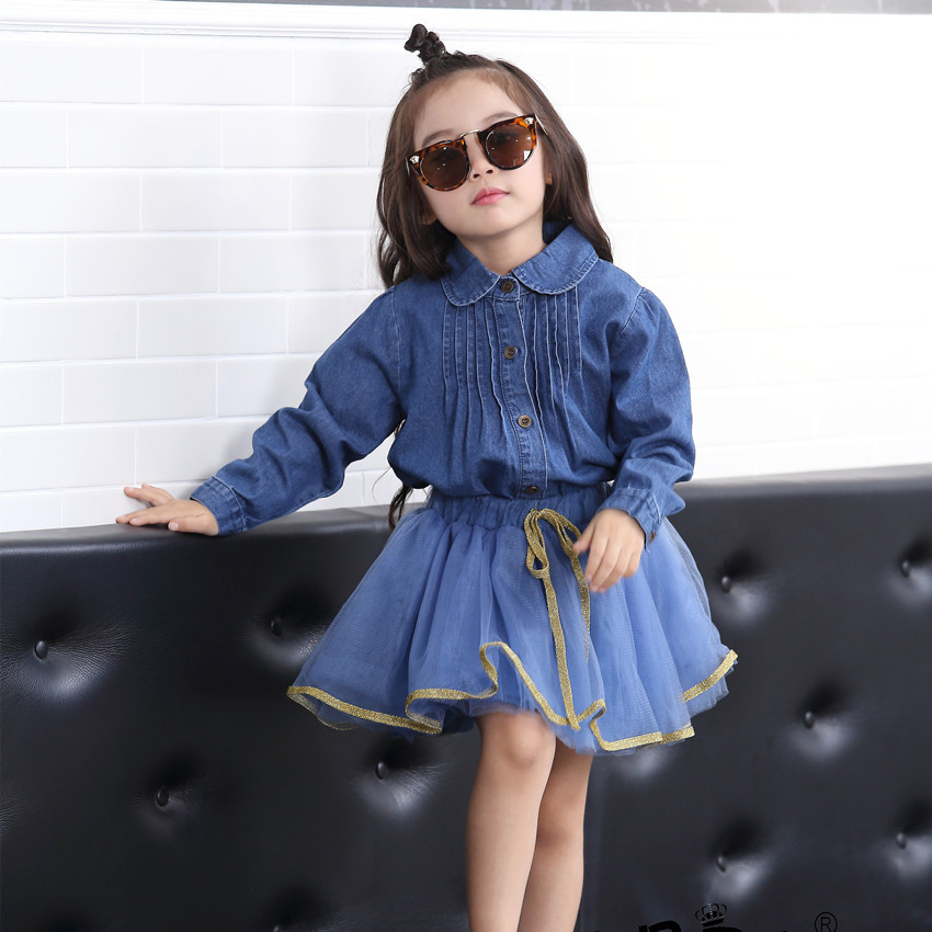 Girls long sleeved shirt children cotton shirt 2016