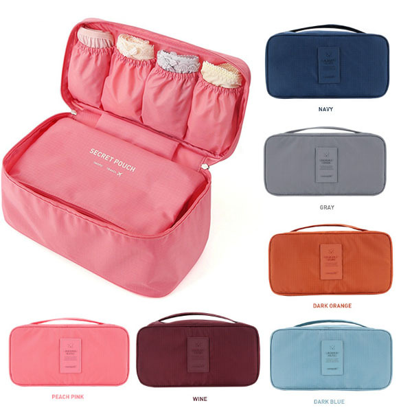 Multifunction Women Bra Package Bags Cosmetic Bags Toiletry kits Portable Travel Storage bags package trousse de maquillage(China (Mainland))