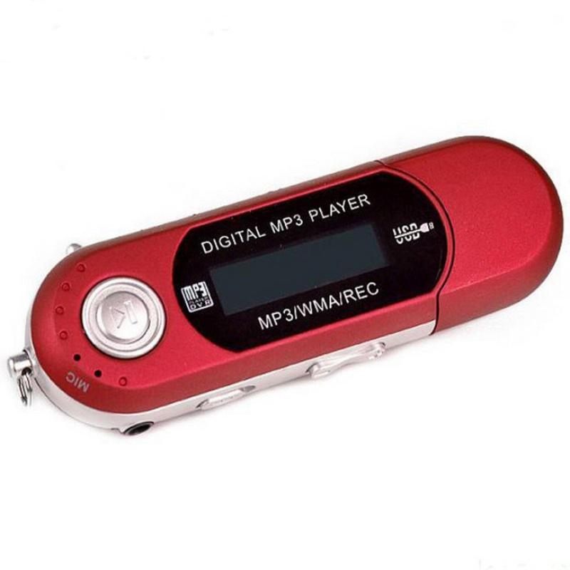8GB USB 2.0Flash Mini MP3 Music Player LCD Screen New USB Sport MP3 Player FM Radio MP3 With Earphone Headphone Headset(China (Mainland))