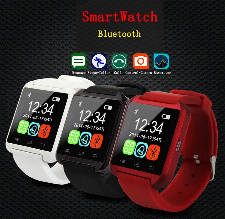 2015 Fashion Bluetooth SmartWatch U8 Android Phone WristWatch Smartphone Smart Watch Bluboo X1 X1S X2 X2S X3 X4 X5 X9