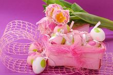 600cm*300cm easter photography backdrops Pink leafy eggs photographic studio background Easter Sunday ZJ - katehome2016 store