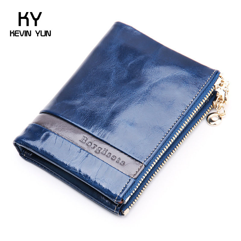 2015 fashion short women wallets genuine leather purse vintage casual female wallet card holder<br><br>Aliexpress