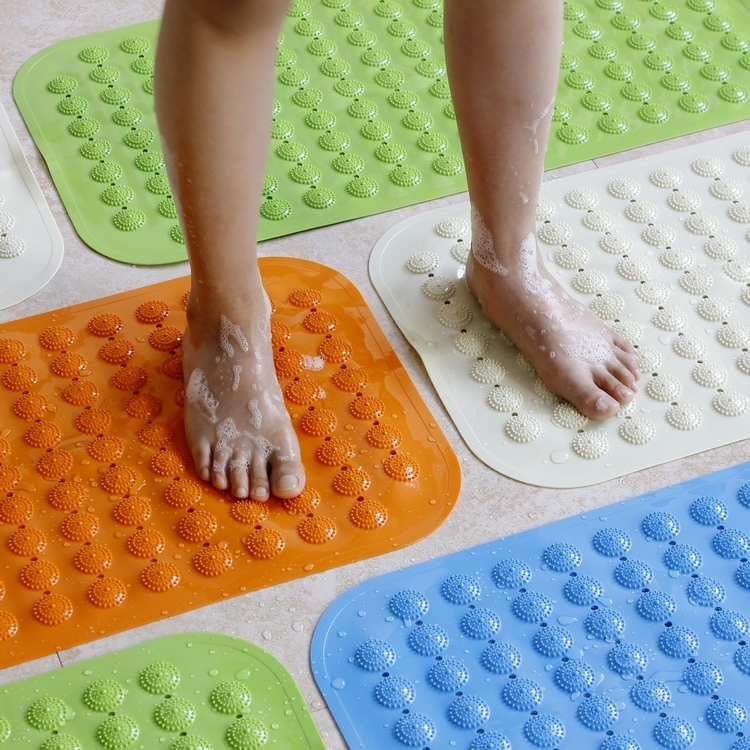 Free shipping Eco-Friendly carpet pvc bathroom slip-resistant pad plastic mat bath mat mats doormat bath mat slip-resistant pad(China (Mainland))