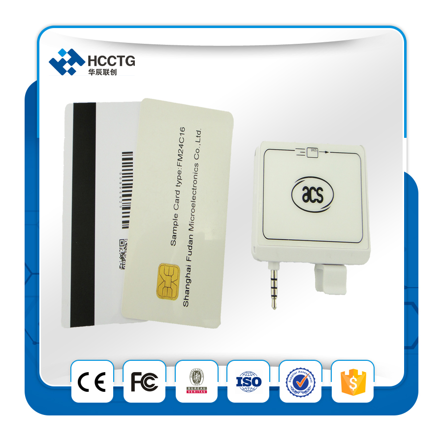 Android mobile Magnetic magnetic card encoding machine/IC Chip Card Reader/MSR stripe msr card reader mini reader --ACR32(China (Mainland))