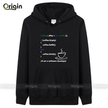 Simple & Neat style man must have hoodie & sweatshirts fleece Programmer Code youth's casual sports wear U.S size quick shipping(China (Mainland))