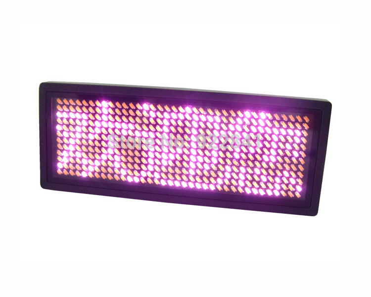 36*12 dots order>=5pcs 10%off Pink rechargeable LED name badge scrolling text screen business card tag display advertisement(China (Mainland))