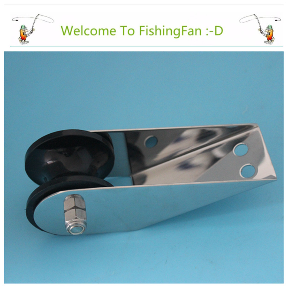 """Marine Hardware 6"""" Fair lead Anchor Roller For Boat Yacht Stainless Steel 304 Bow Anchor Roller(China (Mainland))"""