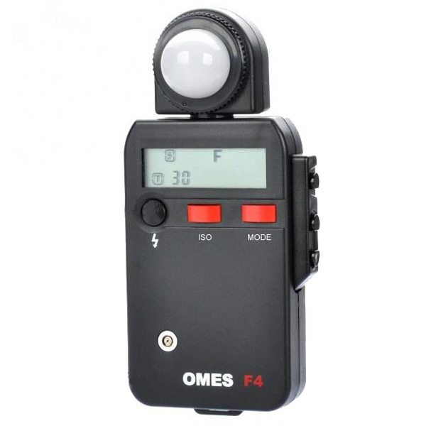 """OMES F4 1.9"""" LCD Light/Flash Meter Black Colour(China (Mainland))"""