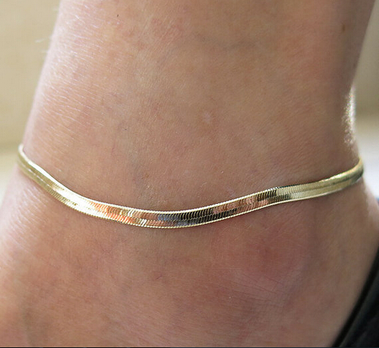 New hot summer style Fashion women ankle bracelet foot jewelry chain gold silver Anklets leg charms barefoot sandals bracelets(China (Mainland))