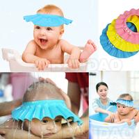 Adjustable Shower cap protect Shampoo  for baby health Bathing bath waterproof caps hat child kid children Wash Hair Shield Hat