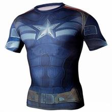 Buy Hot sale Avengers print 3D t shirt Flash man Hulk Batman Spiderman Venom Ironman Superman Captain America Xmen super heroes for $4.93 in AliExpress store
