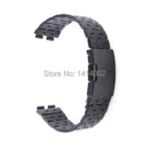 Deluxe Stainless Steel Metal Bracelet Watchband Strap Watch Band Pebble 2 Smart - Nogis store
