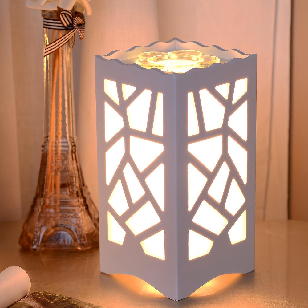 Européenne à l'huile aromathérapie lampe de table lumière sculpté pour moderne salon chambre étude chevet lumières de la nuit la maison lampe décorative(China (Mainland))