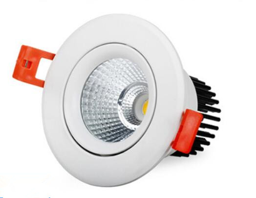 10W 15W 20W 25W  COB LED downlight dimmable recessed lamp home LED epistar spot LED kitchen AC85V-265V<br><br>Aliexpress