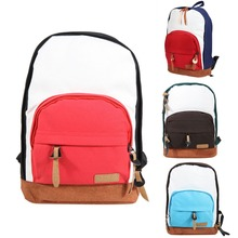 Classic Hit Color Backpack Women Handmade Canvas Schoolbags for Girls Ladies Rucksack Bag Summer Travel  Backpack Wholeprice (China (Mainland))