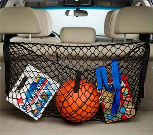 Accessories FIT FOR CAR SUV BACK REAR SEAT CARGO NET TRUNK HANGING MESH LUGGAGE STORAGE WEB(China (Mainland))