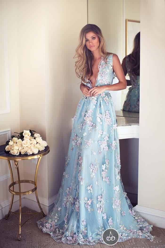 Online Buy Wholesale light blue wedding dress beach from China ...