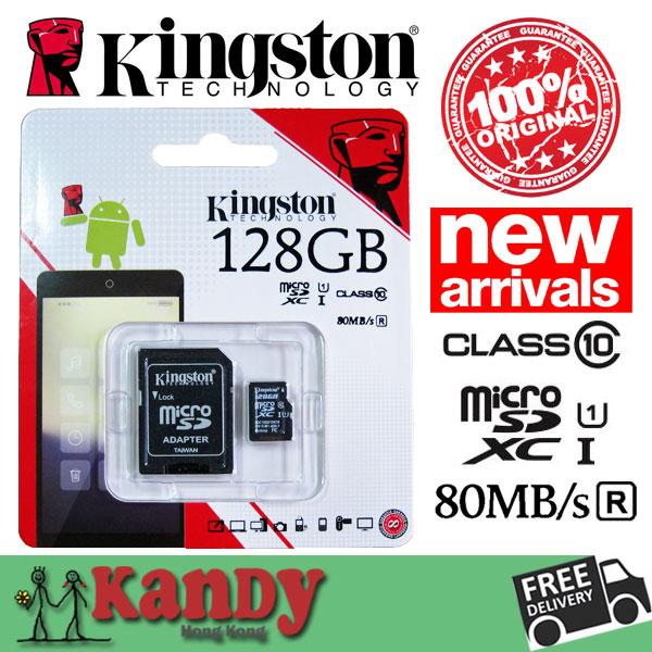 Гаджет  Kingston Class10 high speed micro SD card TF 8GB 16GB 32GB 64GB with SD Adapter Original Packing Warranty 1pcs/lot None Компьютер & сеть