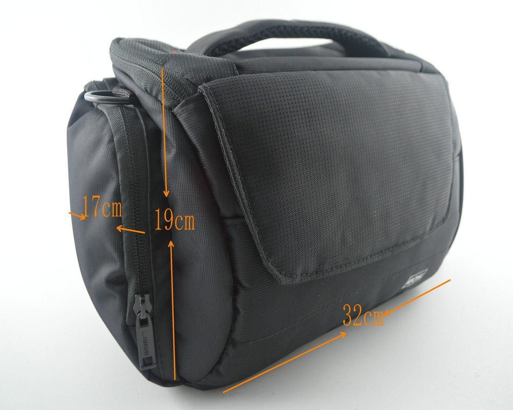 Waterproof Camera Case Bag for Canon DSLR EOS 1100D 1000D 700D 650D 600D 550D 500D 450D 40D 50D 60D 70D 5D 7D with RainCover(China (Mainland))