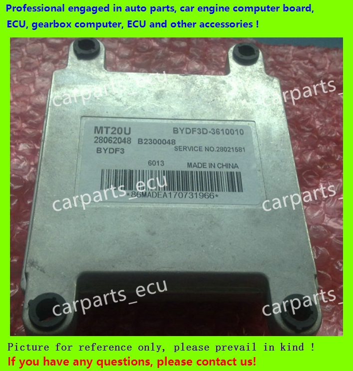 For BYD F3/China Chun Jie car engine computer board/ECU/ Electronic Control Unit/Car PC/ 28062048 BYDF3D-360010(China (Mainland))