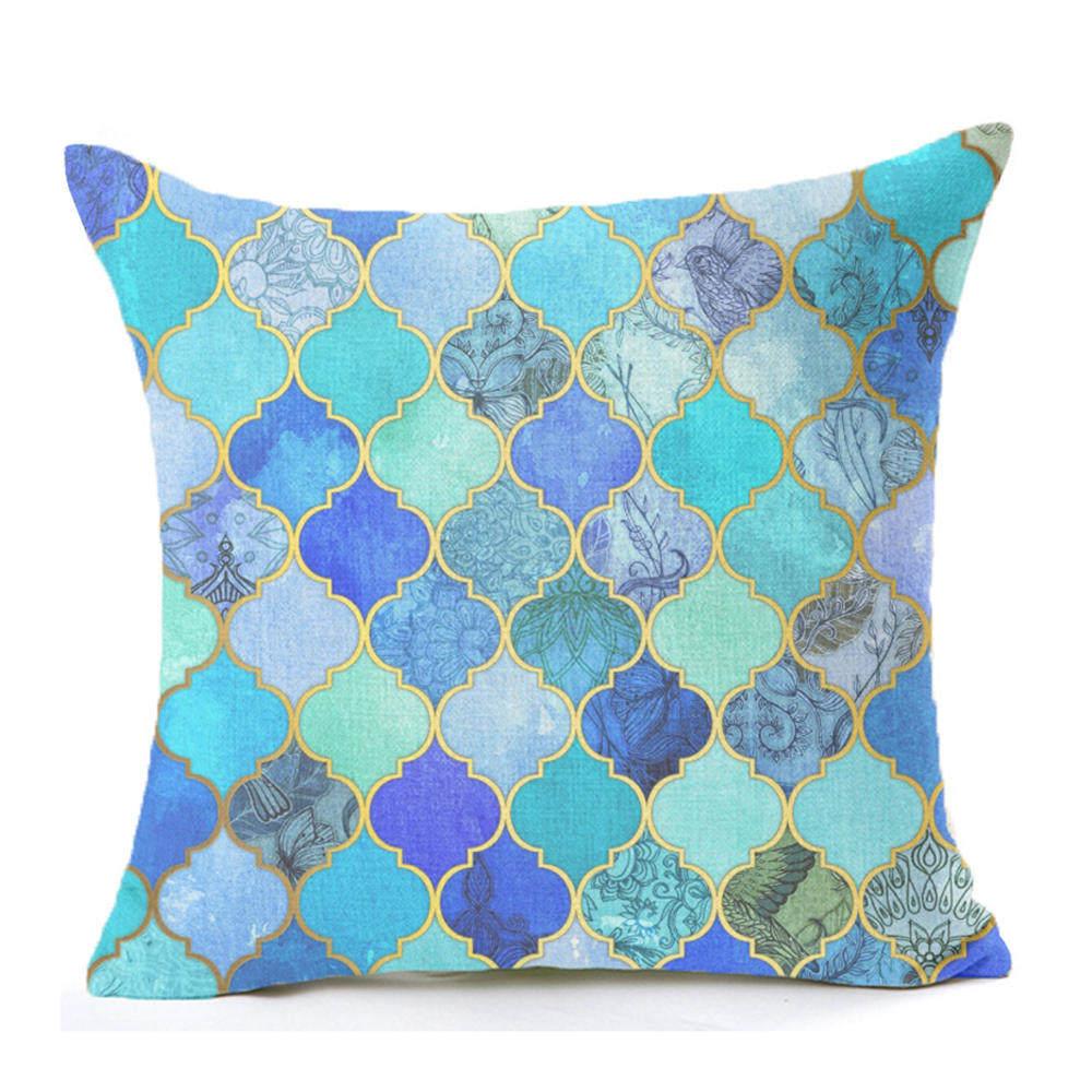 Bleu futon promotion achetez des bleu futon promotionnels sur alibaba group - Coussin nordique ...