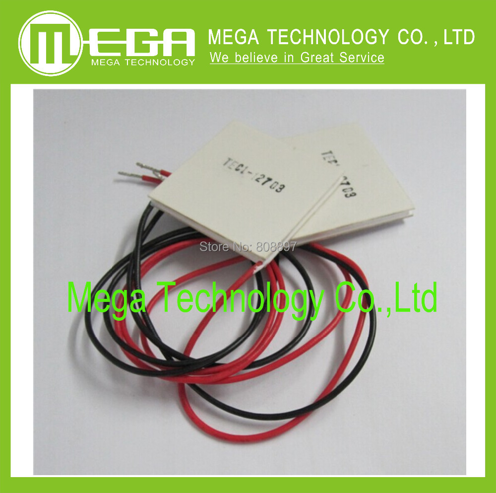 Free Shipping 5pcs TEC1-12703 TEC Thermoelectric Cooler Peltier 12703(China (Mainland))