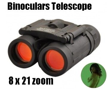 8 x 21DCF 383FT/1000YDS LLL night vision Zoom Optical Hunting Binoculars Telescope (126m-1000m )100%NEW - -Free shipping