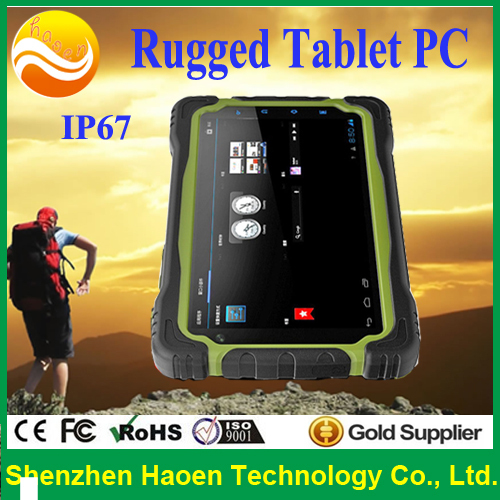 2015 New Rugged Android Tablet PC GPS Rugged Waterproof Tablet IP67 Rugged Tablet pc T70h with NFC 3G WCDMA(China (Mainland))