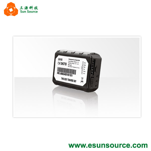 Compact Vehicle Tracking Device With Internal Battery GV55 GPS tracker has multiple digital/analog I/Os(China (Mainland))